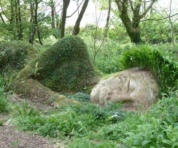 Gardens Of Heligan Statue